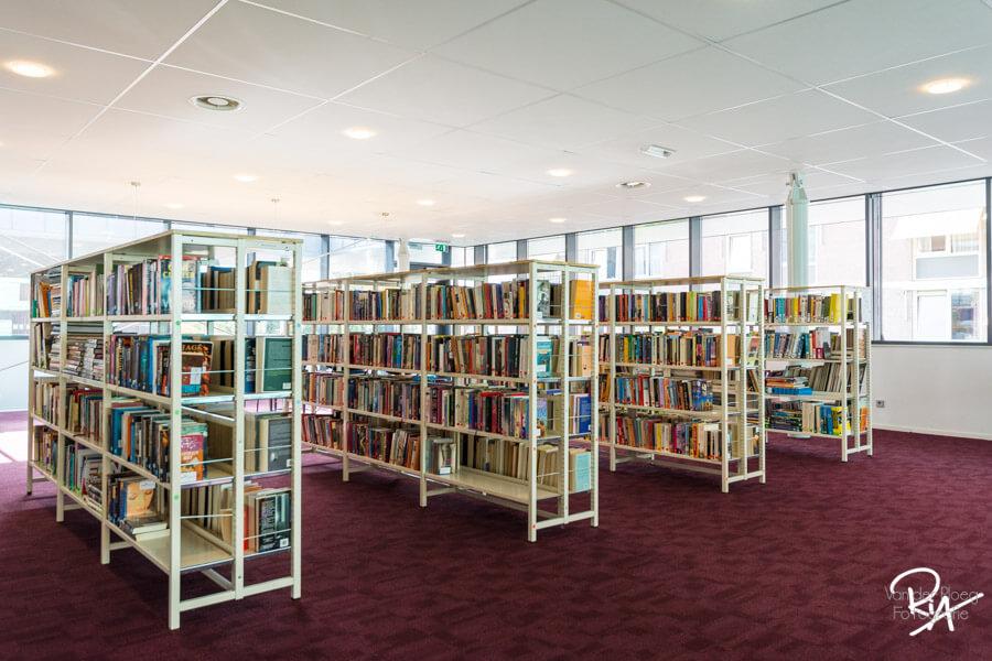 bibliotheek boekenrekken eindhoven