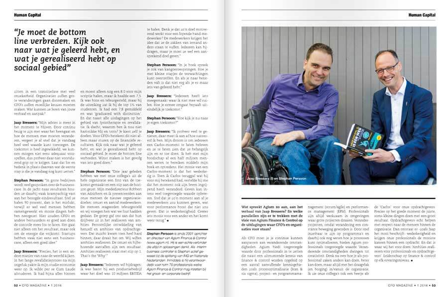 Jaap Bressers interview publicatie