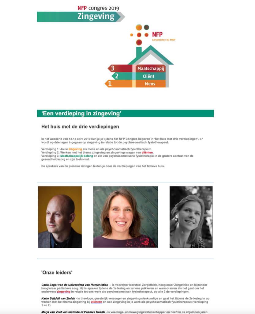 publicatie foto congres 2019 Karin Seijdell