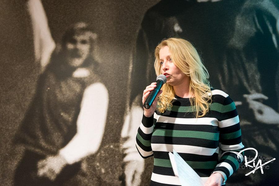 Avondvoorzitter Marianne Zwagerman Eindhoven