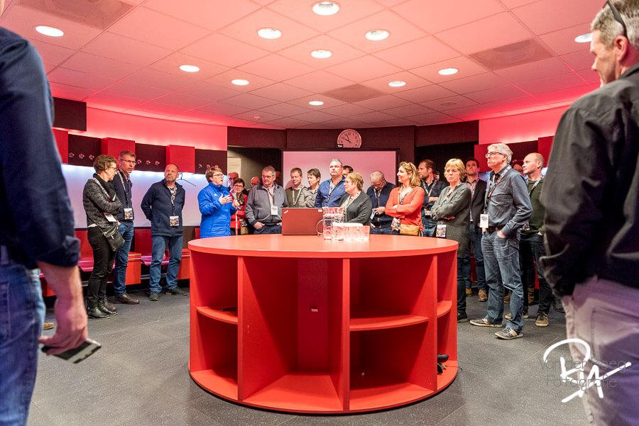 Fotoreportage PSV Stadion rondleiding