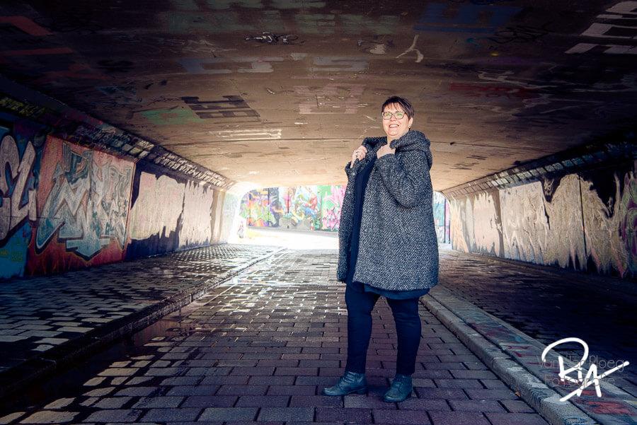 fotografie tunnel model vrouw brabant