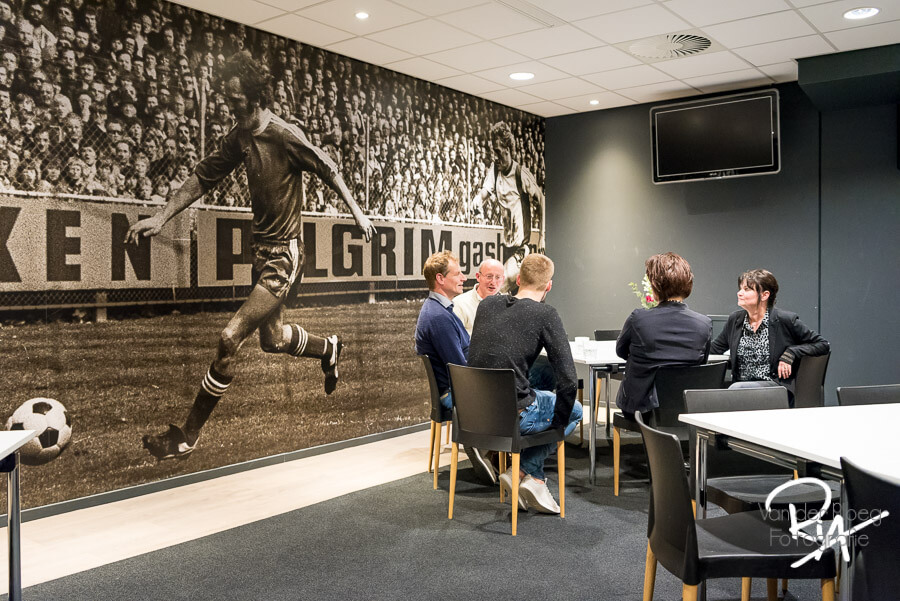 koffie bij Philips Stadion Eindhoven