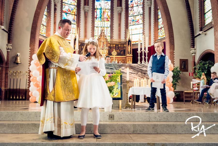 fotografie eerste communie katholieke kerk aalst