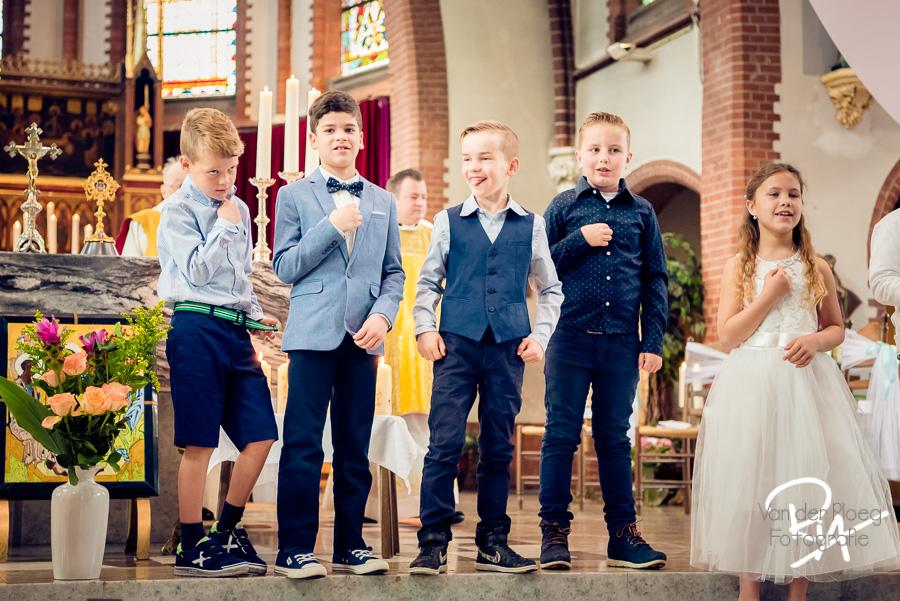 jongens plezier fotograaf eerste communie aalst