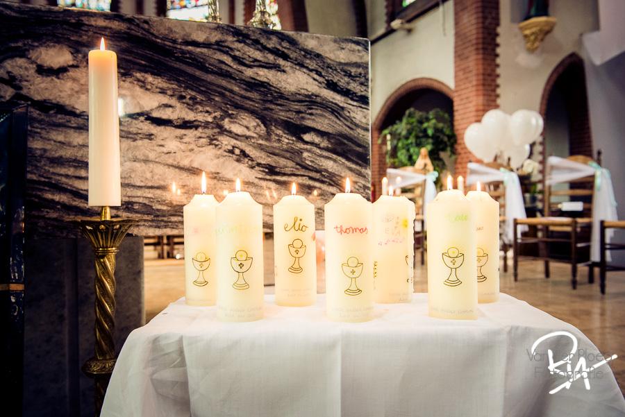 kaarsen communicanten kerk