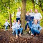familiefotografie buiten natuur fotograaf Waalre