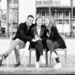 fotograaf gezin waalre eindhoven zwart wit