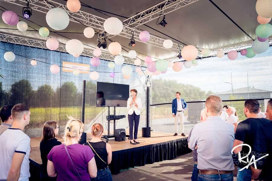 WWL opening feest burgemeester Elly Blanksma