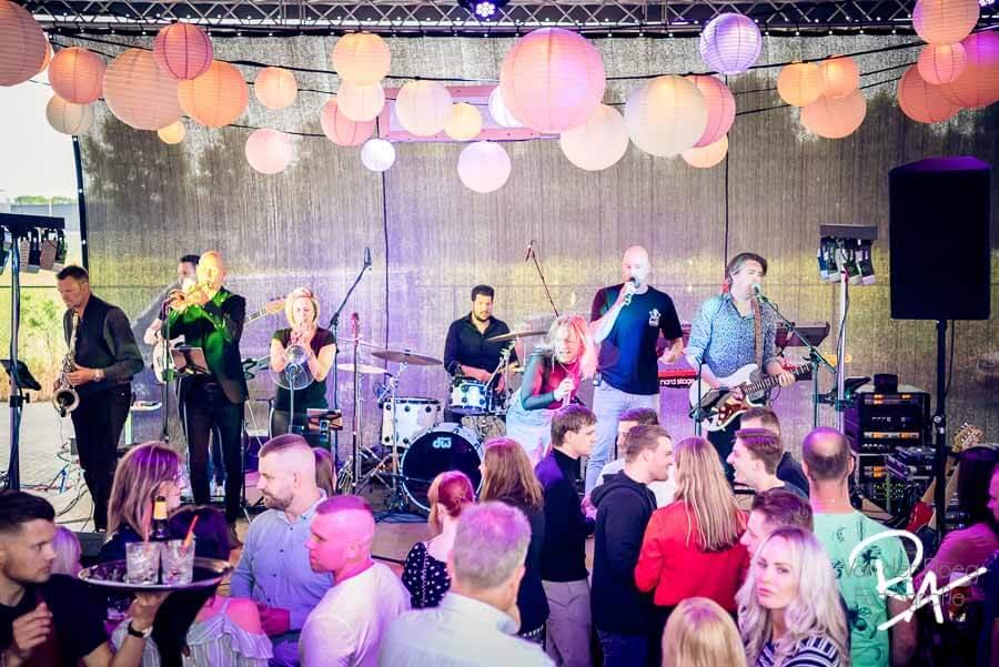 fotografie band Stoot! eindhoven feestavond