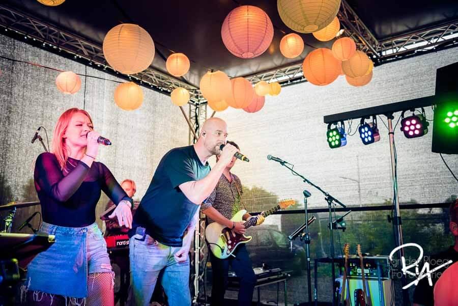 fotografie band stoot! feestavond
