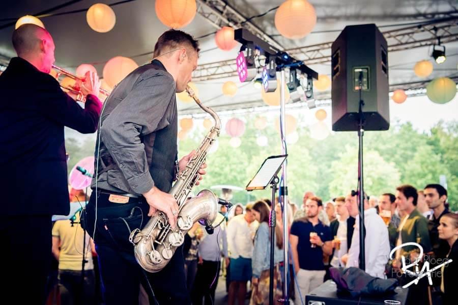 openingsfeest wwl band optreden fotografie