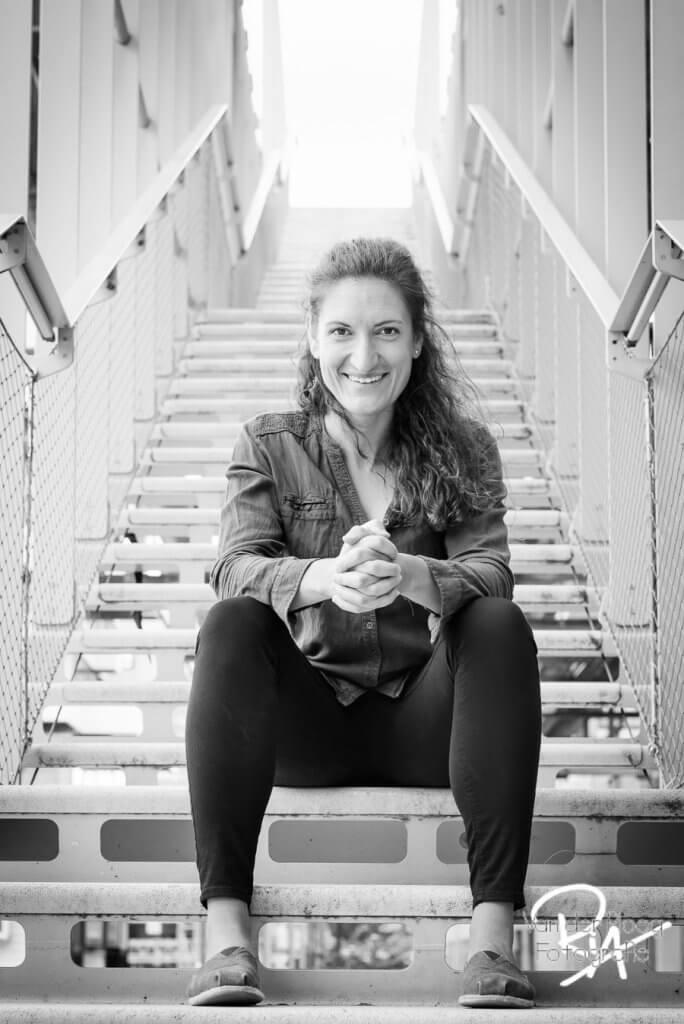 Zakelijk portret portretfoto Eindhoven trap