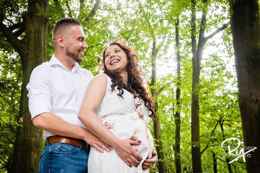 fotograaf zwangerschap natuur buiten plezier Waalre
