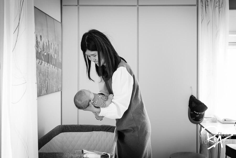 fotosessie thuis newborn Valkenswaard Waalre