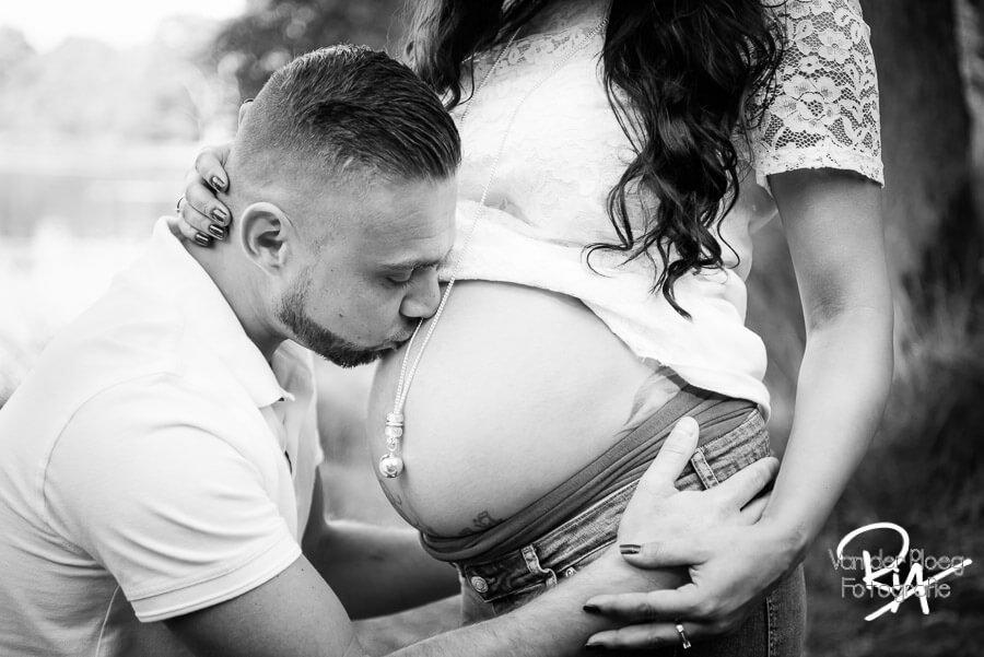 zwanger fotografie blote buik fotograaf Waalre