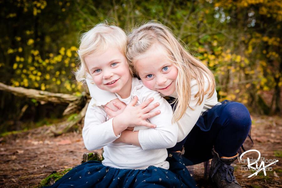 fotosessie natuur regio eindhoven kinderen meisjes