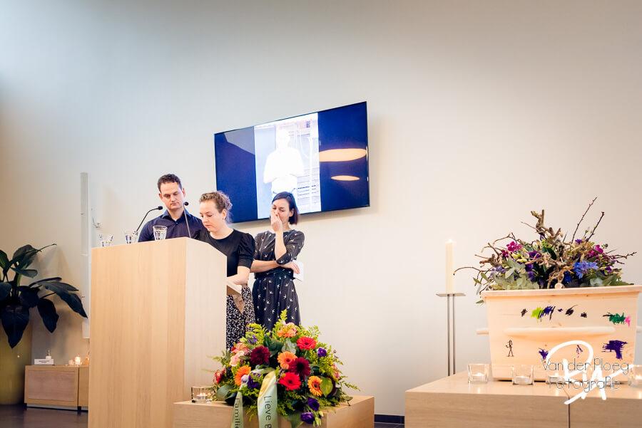 Fotografie uitvaart kinderen ceremonie regio Eindhoven