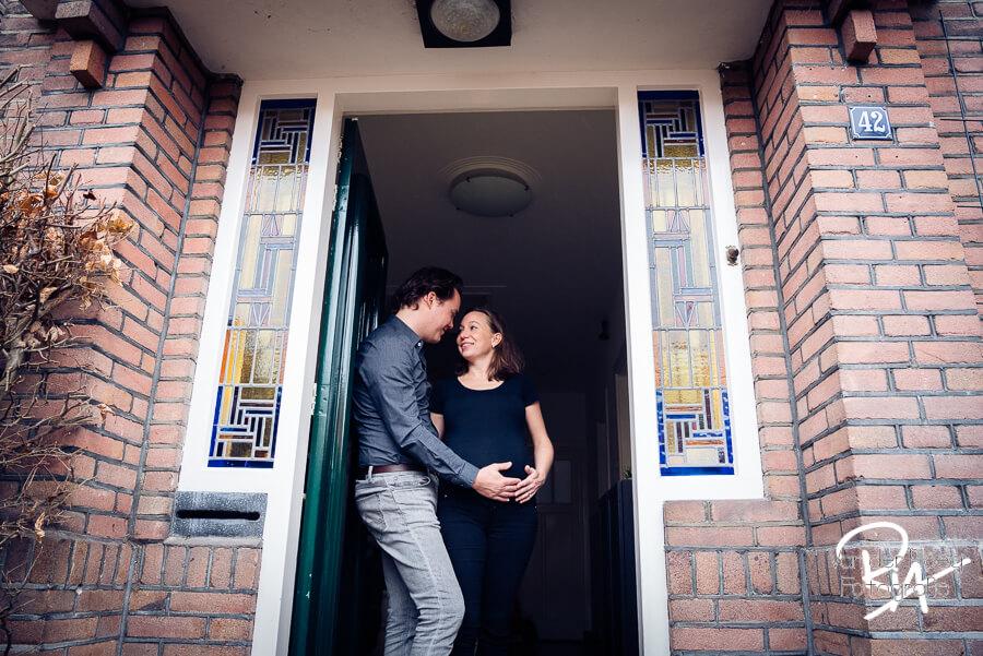fotoshoot zwangerschap thuis Eindhoven fotografie